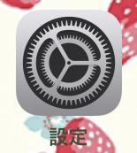 iphone-設定アプリ