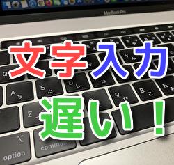 【解決】Mac日本語・文字の入力が遅い・遅延時【Safari・メモ・wordなど】